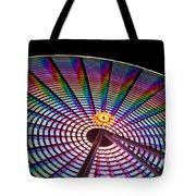 Ferris Wheel Rainbow Tote Bag