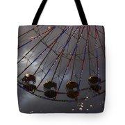 Ferris Wheel Reflection Tote Bag