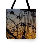 Ferris Wheels Tote Bag
