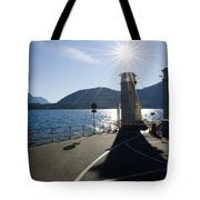 Ferry Harbour Tote Bag