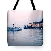 Ferry To Bellagio On Lake Como Tote Bag