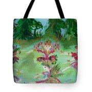 Festive Fairies Tote Bag