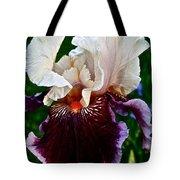 Festive Iris Tote Bag