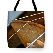 Fiddle Strings Tote Bag