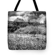 Field Of Cattails II Tote Bag