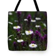 Field Of Spring Flowers Tote Bag