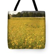 Field Of Yellow Daisy's Tote Bag