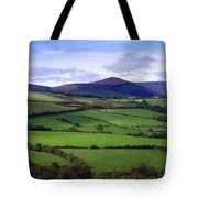 Fields From The Sugar Loaf Mountain, Co Tote Bag