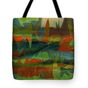 Fields Two Tote Bag
