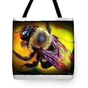 Fierce Bumblebee Tote Bag