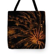 Fiery Tote Bag by Rhonda Barrett