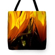 Fiery Sunflowers Tote Bag