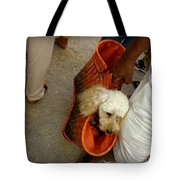 Fifi Goes To Market Tote Bag