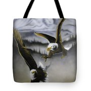 Fight In Flight 1 Tote Bag