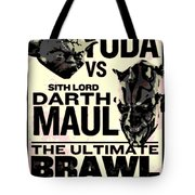 Fight Poster Tote Bag