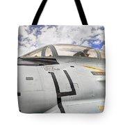 Fighter Jet Cockpit Tote Bag