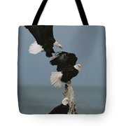 Fighting For A Space, A Northern Tote Bag