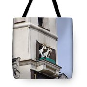 Fighting Goats Of Posnan Poland Tote Bag