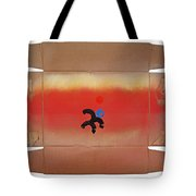 Figure In A Landscape Tote Bag
