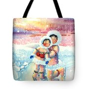 Figure Skater 7 Tote Bag