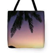 Fiji Sunset Glow Tote Bag