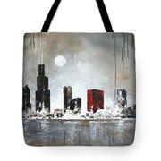 Film Noir Chicago Tote Bag