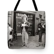 Film Still: Sleuths, 1919 Tote Bag