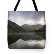 Fin Lough, Delphi Valley, Co Galway Tote Bag