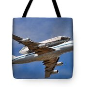 Final Flight Endeavour Tote Bag