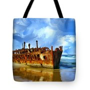 Final Resting Place Tote Bag by Dominic Piperata