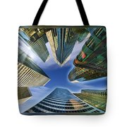 Financial Skyline Tote Bag