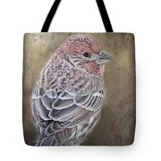 Finch Low Saturation Tote Bag