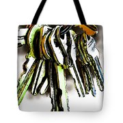 Finding The Right Key Tote Bag