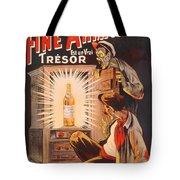 Fine Armagnac Advertisement Tote Bag by Eugene Oge