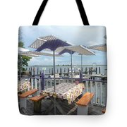 Fine Dining On The Gulf Coast Tote Bag