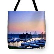 Fine Sailing Morning Coming Up Tote Bag
