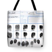Fingerprint Identification Application Tote Bag