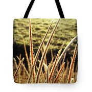 Fingers Of Frost Tote Bag