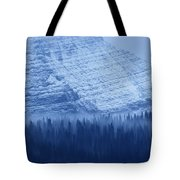 Fir And Spruce Tower Over The Forest Tote Bag