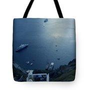 Fira Town View Santorini Tote Bag