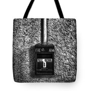 Fire Arm Pull Down Tote Bag