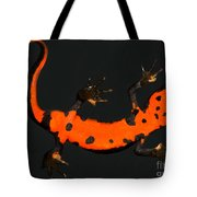 Fire Belly Newt Tote Bag