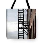 Fire Escape In Boston Tote Bag