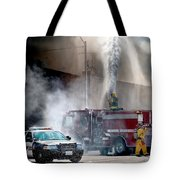 Fire Fight Tote Bag