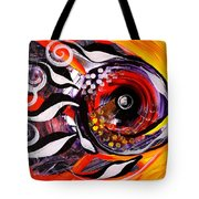 Fire Fish Four And A Half Tote Bag