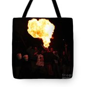 Fire Fungus Tote Bag