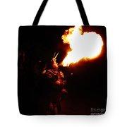 Fire Girl Tote Bag