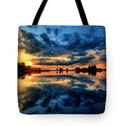 Fire Over Seven Springs Tote Bag