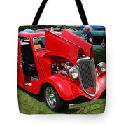 Fire Red Classic Tote Bag