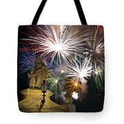 Fire Saints Tote Bag